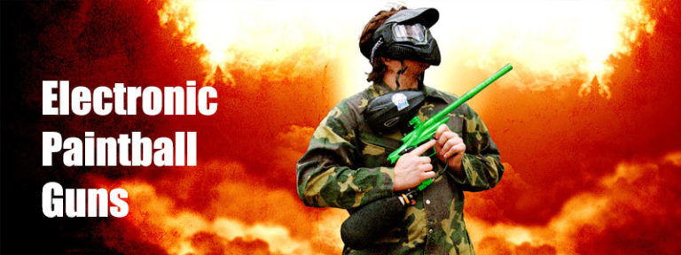 Electronic Paintball Guns