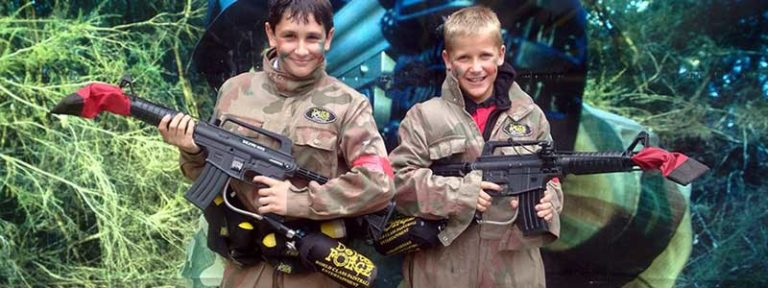 Kids Paintball Packages