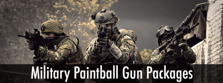 Military Paintball Gun Packages